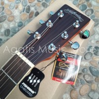 (Diskon) Gitar akustik elektrik samick STAFFORD N CO SF250D Original