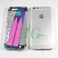 HOUSING / CASING IPHONE 5S MODEL IPHONE 6 SILVER