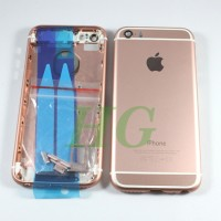 HOUSING / CASING IPHONE 5S MODEL IPHONE 6 ROSE NEW