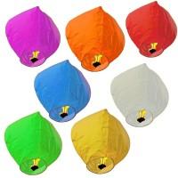 Lampion Terbang / Flying Sky Lanterns / Lentera Terbang (Warna Warni)