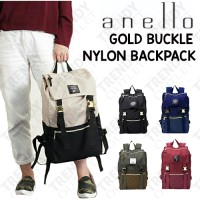 Anello Nylon Gold Buckle Backpack