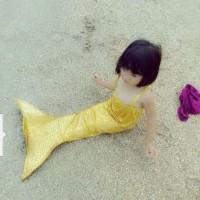 Baju Kostum Renang Balita Mermaid/Putri Duyung Motif SISIK