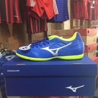 Wow Sepatu Futsal Mizuno Rebula V3 In Strong Blue P1Gf188509 Original
