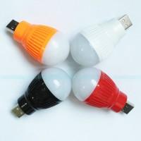 Bohlam Led USB Portable / Emergency Bola Lampu LED Mini USB
