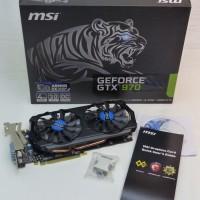 (Murah) MSI Geforce GTX 970 4096MB DDR5 -Tiger Edition