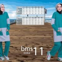 BAJU SENAM MUSLIMAH - BELIEVE BMS 11 2XL - STELAN OLAHRAGA ORIGINAL