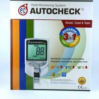 AUTOCHECK auto check alat cek gula darah kolesterol asam urat
