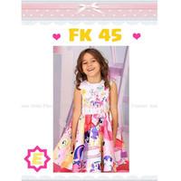 Dress anak / Anak Perempuan/ Little poni / Kuda Poni / Baju Anak