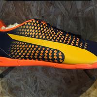Sepatu futsal puma original puma adreno 3 IT black-orange new 2017