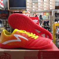 Sepatu Futsal SPECS | Equinox In | Emperor Red-Fresh Yellow-White