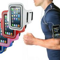 Universal sports Armband case ukuran L untuk bb samsung iphone dll