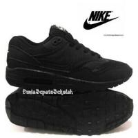 Termurah Sepatu Sekolah Anak Nike Air Max One Full Black Pria Wanita