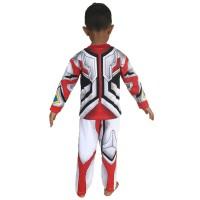 Promo Baju Kaos Anak Bahan Katun Kostum Topeng Superhero Ultraman Go