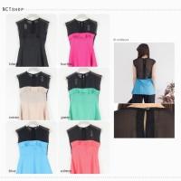 Baju Atasan Wanita Belakang Transparant / Blouse Sifon (A135)