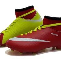 sepatu bola nike hypervenom skin size 39 44 maroon premium 5 warna