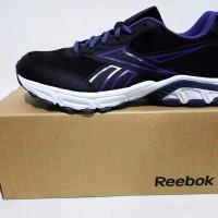 New Sepatu Lari Running Reebok Fuse Ride LP hitam ungu original asli