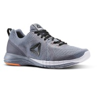 New Sepatu Lari Running Reebok Print Run 2 0 Grey Original Asli Murah