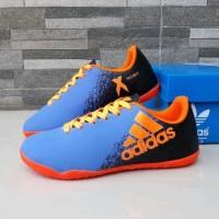 sepatu futsal anak adidas futsal biru original premium size 32 37