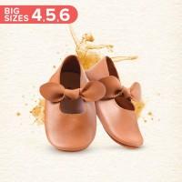 Mary Jane Ballet Shoes BIG - Caramel (Sepatu Bayi PYOPP)
