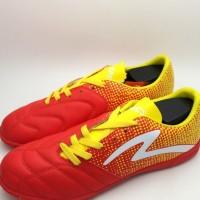 Sepatu Futsal Specs 400711 Equinox In Emperor Red Fresh Yellow White