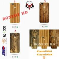 Xiaomi MiA1 Mi5X Mi A1 5X Case Wood Bamboo Soft Tpu Motif Kayu Cover