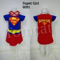Baju Kostum Anak Cewek Supergirl