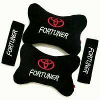 Bantal Mobik Toyota Fortuner Desain Bordir