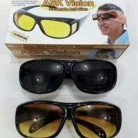 Kacamata night vision ask siang malam anti silau