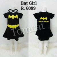Baju Kostum Anak Cewek Bat Girl