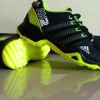 Sepatu Sport Pria Adidas Ax2 Hitam/Hijau - Berkualitas