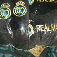 Bantal Mobil 3 in 1 Real Madrid/Moo Black