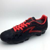 Sepatu Bola Specs Original Quark FG Black Emperor Red 100756 BNIB