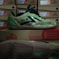 Sepatu Futsal Specs Geronimo In Cocoon / Walnut ( Bukan Adidas, Nike )
