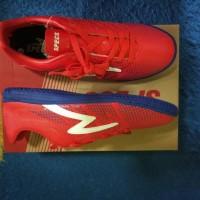Sepatu Futsal Specs Apache In Red Poppy ( Bukan Adidas, Nike )
