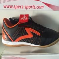 Sepatu futsal specs horus black orange 2015 original  sale