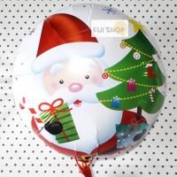 Balon Foil Bulat Christmas / Xmas Edition (4)