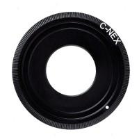 Adapter lensa Fujian CCTV C-NEX Camera C Mount to SONY E mount Black