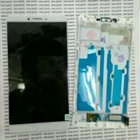 LCD TOUCHSCREEN PLUA FRAME OPPO R7 DAN R7F