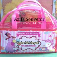 Tas Ultah / Goodie Bag Souvenir Ulang Tahun Anak Busur Custom