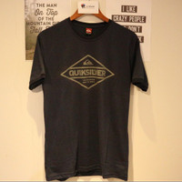 Kaos T-Shirt Distro Surf Pria Quiksilver Navy