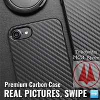 Case Oppo F3 plus F3+ Black Carbon Karbon Hitam Premium Soft Cover