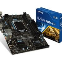 Motherboard MSI B250M-Pro VH LGA1151, B250, DDR4