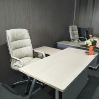 1 set meja & kursi kantor merk informa