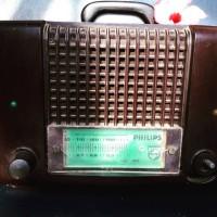 Radio Philips Jadul Display Only BARANG ANTIK Kuno Masih Mulus Langka
