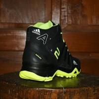 Sepatu Adidas AX2 Boots Goretex Hitam Hijau Stabilo - Sport Outdoor