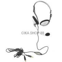 Sonicgear Bs200 Pc Stereo Mutimedia Backphone Heatset Microphone Ori