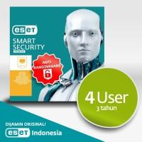 Antivirus ESET Smart Security Premium - 4 Komputer 3 Tahun