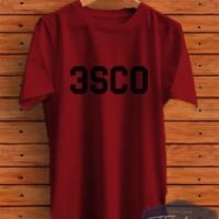 KAOS T-SHIRT REPLIKA 3 SECOND 3SECOND 3SCO