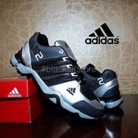 Diskon sepatu sport adidas AX2 hitam silver grade ori casual outdoor