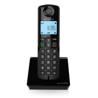 ALCATEL S250 Cordless Phone Telepon Wireless - black